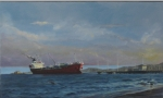thumbs ken hunt fuel tanker New Zealand Art