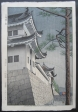 thumbs takeji asano drizzling rain in nijyo castle kyoto b Takeji Asano