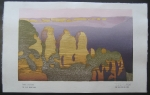 thumbs tom kristensen three sisters Woodblock Prints