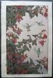 Toshi Yoshida - Hummingbird and Fuchsia