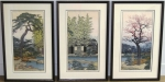 thumbs toshi yoshida the friendly garden triptych Toshi Yoshida