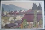 Toshi Yoshida - Village of Plums (Copy A)