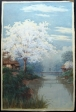 thumbs unknown artist   river scene Unknown Watercolour