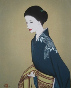 Keiichi Takasawa Image of a beauty 242x300 Keiichi Takasawa Woodblock Prints